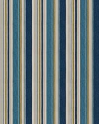 Blue Color Studio Vol VII Fabric Fabricut Fabrics Manhattan Stripe Ocean