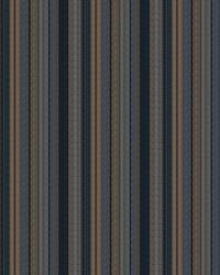 Blue Color Studio Vol VII Fabric Fabricut Fabrics Rustic Stripe Indigo