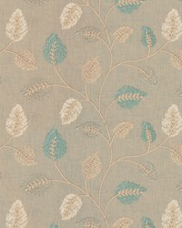 Fabricut Fabrics Betting Leaves Nile Fabric