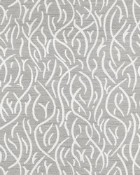 Grey Kendall Wilkinson Fabric  Swaying Reeds River Stone