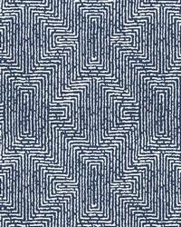 Kendall Wilkinson Fabric  Earth Maze Dusk