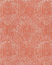 Yellow Kendall Wilkinson Fabric  Earth Maze Sunset