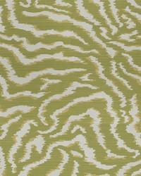 Green Kendall Wilkinson Fabric  Bengal Tiger Grass
