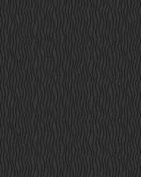Black Kendall Wilkinson Fabric  Sun Waves Black Rock