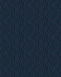 Black Kendall Wilkinson Fabric  Sun Waves Night Sky