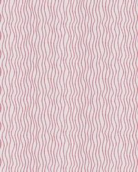 Red Kendall Wilkinson Fabric  Sun Waves Watermelon