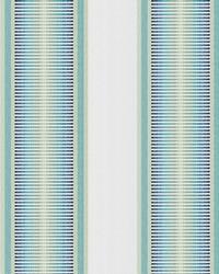 Kendall Wilkinson Fabric  Sunset Stripe Tropical Sky