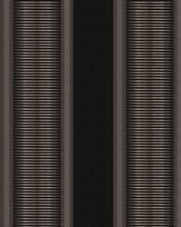 Black Kendall Wilkinson Fabric  Sunset Stripe Black Rock