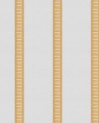 Yellow Kendall Wilkinson Fabric  Pier Stripe Morning Sun