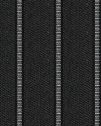 Fabricut Fabrics Pier Stripe Black Rock Fabric