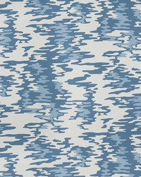 Kendall Wilkinson Fabric  Water Reflections Riviera