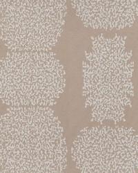 Brown Kendall Wilkinson Fabric  Beaded Batik Sand