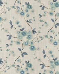 Oriental Fabric  Sway Floral Mist