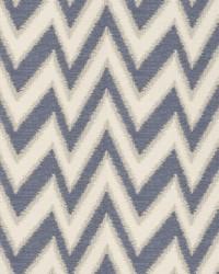Blue City View Fabric  Tolland Cobalt