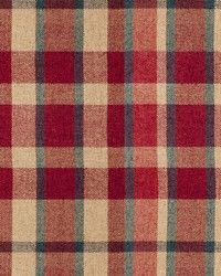 Fabricut Fabrics Calais Plaid Redwood Fabric
