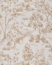 French Country Toile Fabric  Arbe Toile Hemp