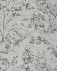 French Country Toile Fabric  Arbe Toile La Mer