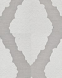 Beige Inspriations Vol VII Fabric  Noga Medallion Ivory