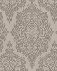 Beige Chromatics Vol XXV Fabric Fabricut Fabrics Triumph Damask Linen