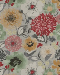 Multi Chromatics Vol XXV Fabric Fabricut Fabrics Spondee Floral Multi