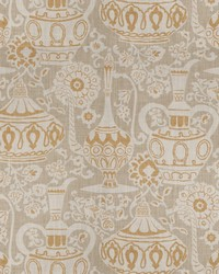Oriental Fabric  Anapest Ginger