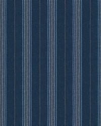 Blue Chromatics Vol XXV Fabric Fabricut Fabrics Canto Stripe Cobalt