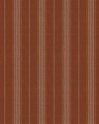 Orange Chromatics Vol XXV Fabric Fabricut Fabrics Canto Stripe Sienna