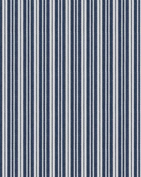 Blue Chromatics Vol XXV Fabric Fabricut Fabrics Iamb Stripes Indigo
