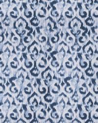 Blue Chromatics Vol XXV Fabric Fabricut Fabrics Maister Damask Denim