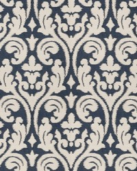 Elegy Damask Navy by
