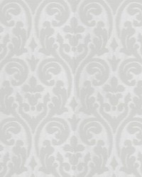 Elegy Damask White by