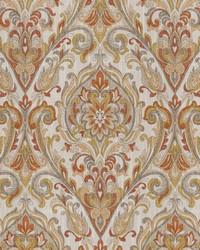 Chromatics Vol XXV Fabric Fabricut Fabrics Allusion Damask Autumn