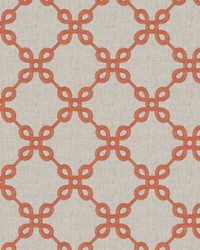 Fabricut Fabrics Couplet Lattice Spice Fabric