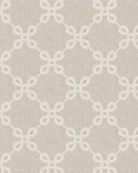 Fabricut Fabrics Couplet Lattice Linen Fabric