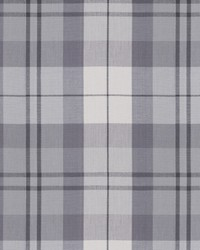 Silver Chromatics Vol XXV Fabric Fabricut Fabrics Hix Plaid Silver