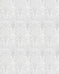Fabricut Fabrics Out Take Paisley Frost Fabric