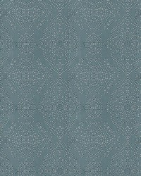 Indie Damask Blue by