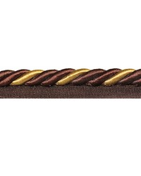 Darcy Chocolate Gold Trim by  Novel Trim