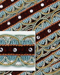 Scallop Turquoise by  Novel Trim