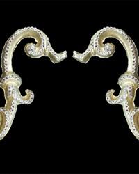 O Arm Scrolls Silver Gold by
