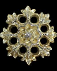 Ara Silver Gold Tieback by