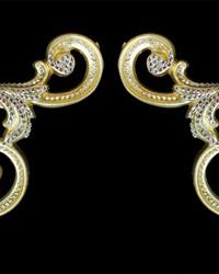 Venetian Arm Scrolls Silver Gold by