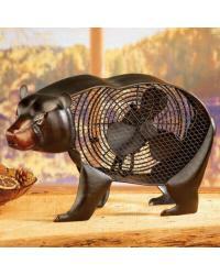 Figurine Fan Black Bear by
