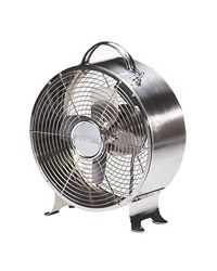 Retro Metal Fan - Stainless by