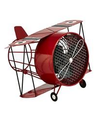 Figurine Fan - Red Biplane by