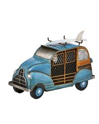Figurine Fan - Blue Woody Car by