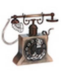 Antique Copper Phone Fan by