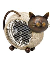Figurine Heater Fan - Cat by