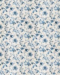 Blue Oriental Fabric  03367 Blue