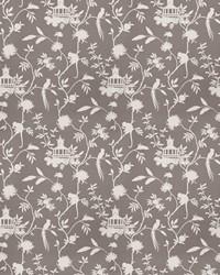 Grey Oriental Fabric  03364 Grey